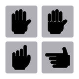 Hands signs Royalty Free Stock Photography