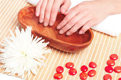 Hands Spa. Manicure concept Stock Photo