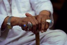 hands starkt Arkivfoto