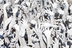 Hands Statue from Hell Stock Image