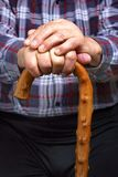 Hands and stick Royalty Free Stock Image