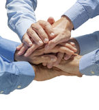 Hands Team Royalty Free Stock Images