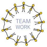 hands teamwork Fotografering för Bildbyråer
