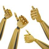 hands thumb up Стоковое фото RF