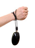 Hands tied Cable Stock Image