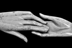 Hands of time Royalty Free Stock Image