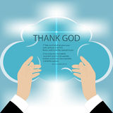 Hands to God Royalty Free Stock Photography