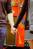 Hands together in love Royalty Free Stock Photography