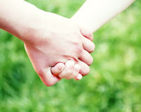 Hands tohether Royalty Free Stock Images