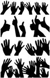 Hands up. Royalty Free Stock Photography