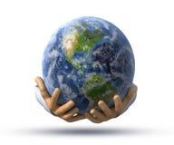 hands världen stock illustrationer