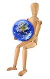 hands världen royaltyfri foto