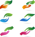 Hands. A vector drawing represents hands design stock illustration