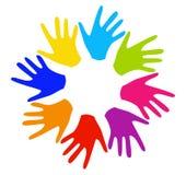hands vektorn Royaltyfri Foto