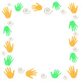Hands volunteer Royalty Free Stock Image