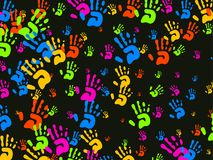 Hands wallpaper Royalty Free Stock Image