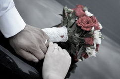 Free Hands With Wedding Rings Stock Photos - 54497503
