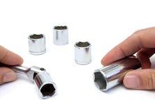 Handschaltklinke Stockfotografie