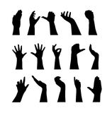 Handschattenbilder Lizenzfreies Stockfoto