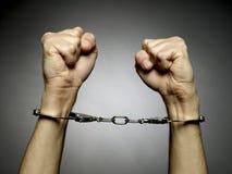 Handschellen Lizenzfreies Stockbild
