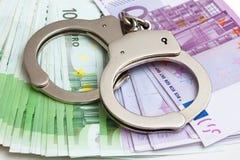 Handschellen Lizenzfreies Stockfoto