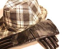 Handschoenen en hoed Royalty-vrije Stock Foto's