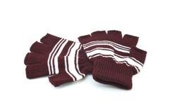 Handschoenen voor vrouw Royalty-vrije Stock Afbeeldingen