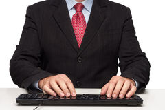 Handschreiben Lizenzfreies Stockfoto
