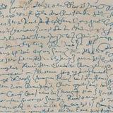 Handschrift Lizenzfreie Stockfotos
