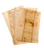 Handschriften stockbild
