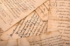 handschriften Lizenzfreies Stockbild