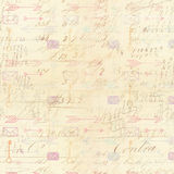 Handschriftshintergrund mit Pfeilzeichnungen Lizenzfreie Stockfotografie