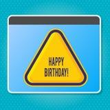 Handschriftstext, der alles Gute zum Geburtstag schreibt Konzept, das die Glückwünsche feiern Jahrestag bedeutet vektor abbildung