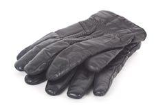 Handschuhe über Weiß. Lizenzfreies Stockbild