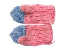 Handschuhe der Kinder Lizenzfreie Stockbilder