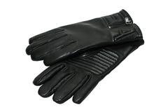 Handschuhe des schwarzen Mannes Lizenzfreie Stockbilder