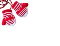 Handschuhe für Kinder Lizenzfreies Stockfoto
