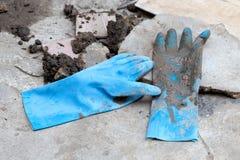 Handschuhreparatur stockbilder