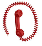 Handset Royalty Free Stock Photo