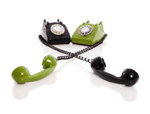 Handset piece Royalty Free Stock Photo