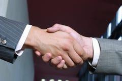 handshak Στοκ Φωτογραφίες