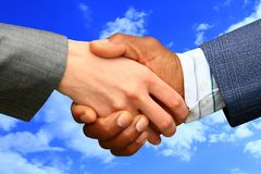 Handshake 1 Royalty Free Stock Photography