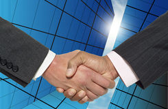 Handshake # 1 Stock Images