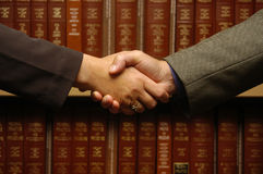 Handshake 1 Stock Photography