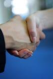 Handshake. A Close-Up Shot of female handshake Royalty Free Stock Photos