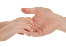 A handshake Royalty Free Stock Images