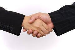 handshake Arkivbild