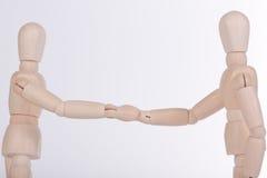 handshake royaltyfri foto