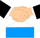 The Handshake Stock Images