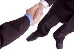 handshake Arkivfoto